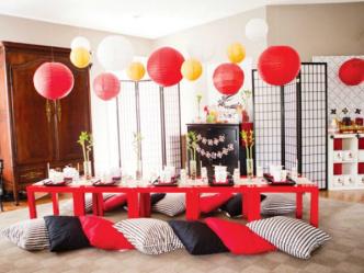Организация незабываемой вечеринки в японском стиле