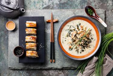 Топ-5 самых полезных суши и роллов
