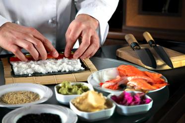 Как учили мастеров суши?