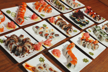 Правила сервировки стола для суши
