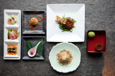Главные принципы подачи японских блюд