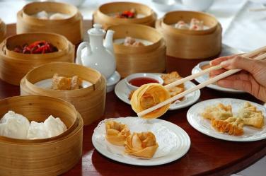 """Пельмени """"димсам"""" - оригинальное блюдо китайской кухни"""