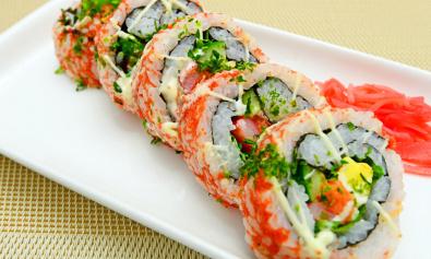Суши и роллы - залог долголетия и здоровья