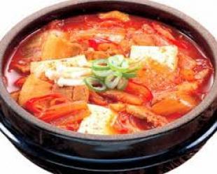 Японский суп - Кимчи